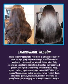 Laminowanie włosów - Ten zabieg odmieni je całkowicie... Light Brunette Hair, Long Brunette, Beauty Secrets, Beauty Hacks, Beauty Care, Hair Beauty, Beauty Recipe, Natural Cosmetics, Bad Hair