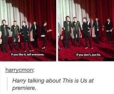 Harry's speech