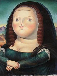 BOTERO, I've always been a fan of his work and enjoy his fat Mona Lisa over Da Vinci's Mona Lisa, Tableaux Vivants, Fat Art, Mexico Art, Italian Artist, Renoir, Love Art, Art History, Sculpture Art
