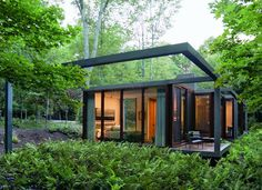 Guest House, Dutchess County, United States by: Allied Works Architecture