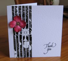 CAS141 Thank You by susie australia - Cards and Paper Crafts at Splitcoaststampers