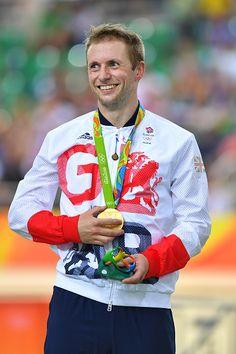 31st Rio 2016 Olympics / Track Cycling Men's Sprint Finals Podium / Jason KENNY…