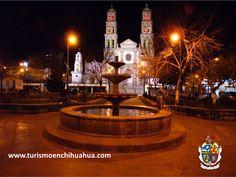 TURISMO EN CIUDAD JUÁREZ La Catedral de Ciudad Juárez ilumina el Centro Histórico con sus columnas estriadas de estilo neoclásico y sus altos techos con materiales regionales e importados, a principios del siglo XX, se propuso construir un templo anexo a la Misión de Guadalupe. La Catedral se construyó de 1935 a 1957, convirtiéndose en sede de la diócesis de Ciudad Juárez. #ah-chihuahua
