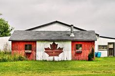 a bit of canadiana at the side of the road