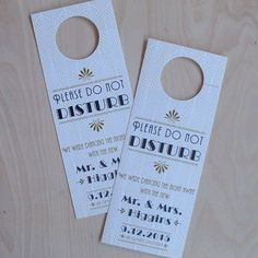 Wedding Door Hanger Wpc Invitation Templates  Invitation