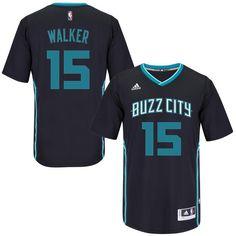 32bb160ace7 Kemba Walker Charlotte Hornets adidas Pride Swingman Jersey - Black
