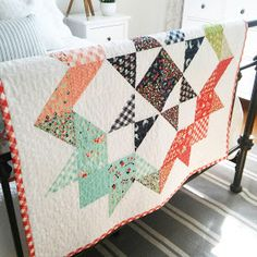 The Moda Love Quilt has been on my must make list forever. What could be better than a quilt that uses one charm pack! The pattern actually ...