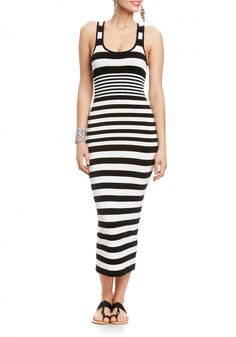2b | Striped Tank Maxi - Special Deals - President's Day Sale
