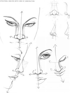 The Eyes Figure Drawing