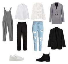"""""""hd"""" by sellciux on Polyvore featuring MANGO, TOMS, H&M, WithChic, Jaeger and Anine Bing"""