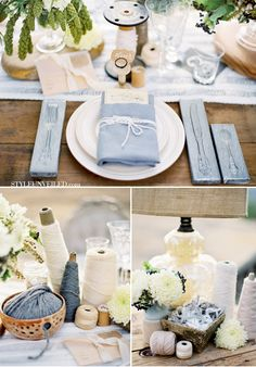 Love, love, LOVE all the decorative details using fabric and sewing notions. SEW perfect! ;)