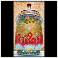 Introducing the #Signature Line... Designed during the season of Pentecost,  the fiery concept should come as no surprise.  Follow us on instagram @ikamcreate #ikamCreate #beinspired #beAnInspiration #beCreative #be #handcrafted #handpainted #espiritosanto #trinity #glassart #centerpiece #decor #art #accessories #iKamCreate #homedecor