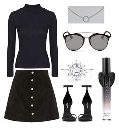 """""""Untitled #231"""" by anniken-ns on Polyvore featuring AG Adriano Goldschmied, Topshop, Yves Saint Laurent, Victoria's Secret, Christian Dior and Dogeared"""