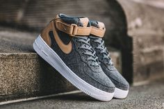 "a32ba96db90 NIKE AIR FORCE 1 MID WMNS ""LEATHER Sneakers Nike Jordan"