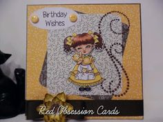 RED OBSESSION CARDS: I Love My Cats