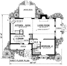 First Floor of Plan ID: 50735