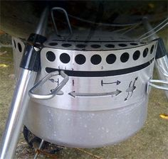 Here's how to use the two vents to control temperature in a charcoal or wood grill or smoker.