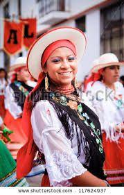 ecuador traditional costume - Google Search