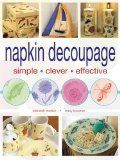 How to Use Paper and napkins to decoupage and decorate a clipboard (or anything)