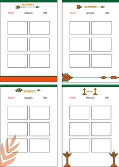 Design huisstijl 2 Homepage