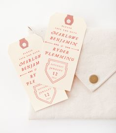 Save the Date stamp by MaeMae Paperie