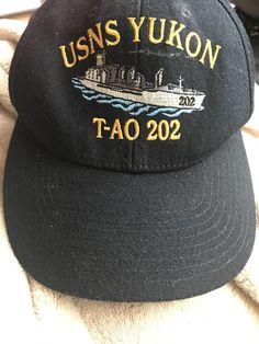 Unisex Accessories · The Corps Vintage USNS YUKON T-AO-202 Baseball Cap  U.S. NAVY  fashion 42b09fb289b6