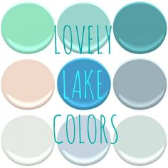 THE LAKE COLORS