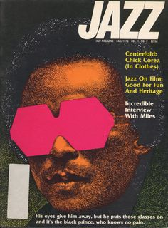 """""""newmanology:  Jazz magazine covers, 1976-79 See four years of Jazz magazine covers here.   """""""