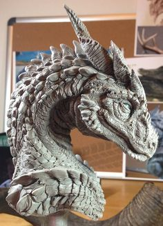 Introduction    Back in January I was hard at work on a dragon sculpture that was a gift for a friend, and since I took a number of p...