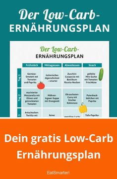 Your free low carb diet plan eatsmarter.de weight carb # ernährungsplanlowcarb recipes and nutrition and drinks recipes recipes celebration diet recipes Diet And Nutrition, Nutrition Plans, Low Fat Diets, Low Carb Diet, Gm Diet, Egg And Grapefruit Diet, Boiled Egg Diet Plan, Menu Dieta, Ketogenic Diet