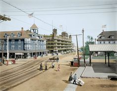 Maine, USA in 1904