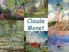 Leuke en informatieve powerpoint over Claude Monet. Famous Artists, Great Artists, Claude Monet, Tableaux Vivants, Fun Arts And Crafts, Ecole Art, Mondrian, Preschool Art, Elements Of Art