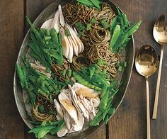 Easy Basil Chicken Salad with Soba by Fine Cooking