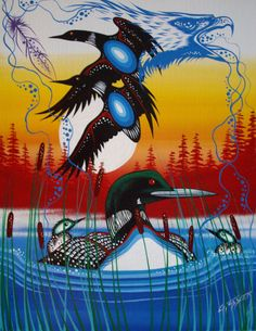 Carolyn Beach - Native Art Display - Image Upload Native American Artists, Canadian Artists, Native Canadian, Coastal Art, Indigenous Art, Native Art, Wildlife Art, Felt Art, Western Art