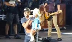 6-Year-Old Girl Steals Show at Luke Bryan Concert [VIDEO]