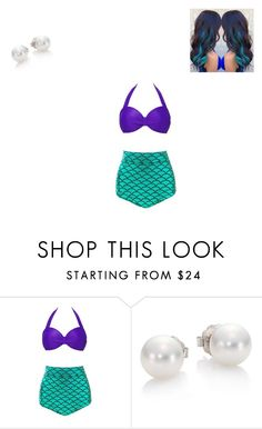 """""""Mermaid"""" by calilvsla ❤ liked on Polyvore featuring Mikimoto"""