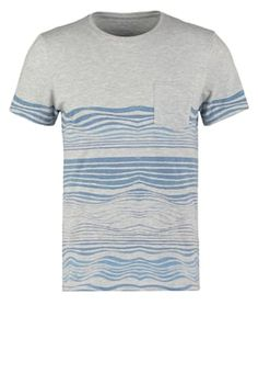 3f5efd0ef4bca T-Shirt print - mottled light grey - Zalando.de