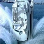 And a guy is on the boat to boot. - Custom built motor yacht complete with staterooms, a state of the art galley, G. Jet Ski, Course Vintage, Wow Photo, Worst Day, Bizarre, Yacht Boat, Sport Yacht, Yacht Club, Super Yachts