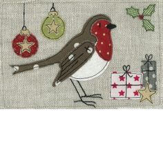 english robin applique - Google Search