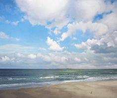 Painting Skies with Janhendrik Dolsma Landscape Paintings, Ocean Painting, Beach Painting, Sky Painting, Fantasy Landscape, Watercolor Landscape, Watercolor Clouds, Seascape Paintings, Landscape Art