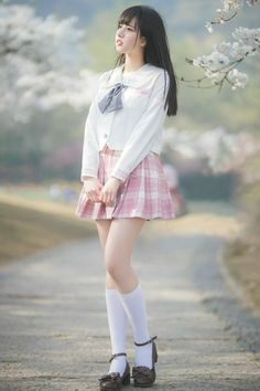 Best 11 Girl in Uniform 😘 School Girl Japan, School Girl Outfit, Japan Girl, Girl Outfits, Cute Korean Girl, Cute Asian Girls, Beautiful Asian Girls, Cute Girls, Cute Fashion