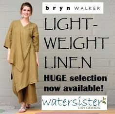 Light-weight Linen by Bryn Walker #sale #collection #tunic #pants