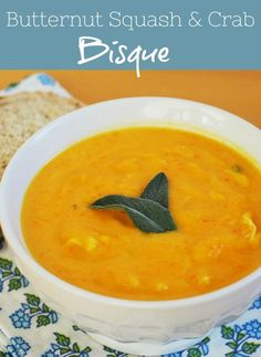 Ernut Squash And Crab Bisque Whole Foods Copycat Recipe Rich Delicious Full Of Fall Flavor