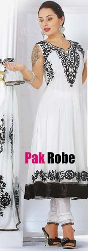 White Party DressPakistani and indian Dresses in UK and USA. Pakistani wedding dresses and bridal dresses.Pakistani Designer Party Dresses, Sami Party Dresses, Wedding Speacial and Casual Dresses. Shop Party Dresses at: www.PakRobe.com Visit our online shoping store www.PakRobe.com