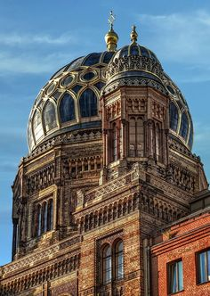 New Synagogue in Berlin by *pingallery on deviantART