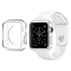 Apple Watch Case 38mm CaseHigh Shop Hard Soft TPU Transparent Full Body Screen Protector 03mm Thin Case Apple Watch Cover For Apple Watch  Watch Sport  Watch 201538mm Crystal Clear 38mm 2Pack *** Visit the image link more details. (Note:Amazon affiliate link) #CellPhonesAccessories