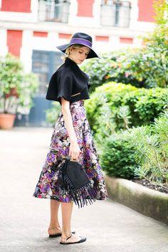 Look 3. Elena Perminova  Cover Fringe Bags 44b898498e4