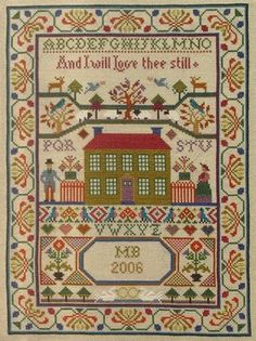 Moira Blackburn - Scottish Love Sampler