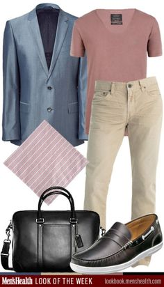What do you think of our #LookoftheWeek? Would you rock it? Blazer: HUGO via StyleBop.com T-Shirt: All Saints Jeans: J Brand Shoes: Florshei...