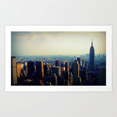New York, New York Art Print by The Other McClane - $18.00